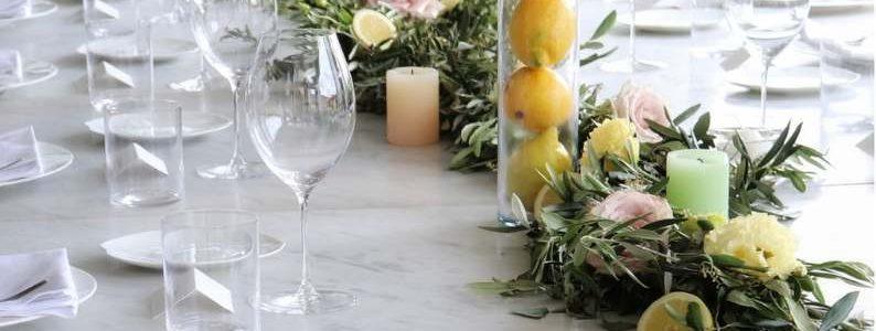 Mediterranean citrus and roses